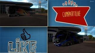 Euro Truck Simulator 2: MOD de ônibus, SHOW! 1.25 e 1.26