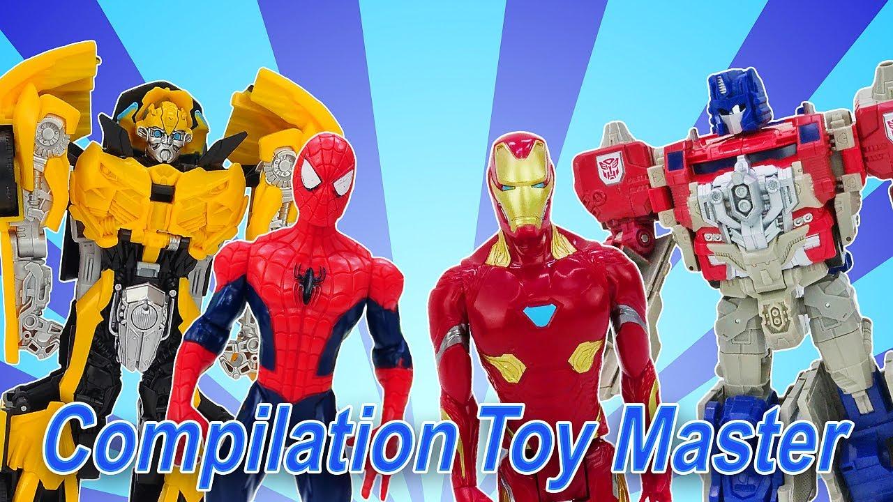 Toy Master:  vidéos avec des super-héros pour garçons. Spider-man, Ironman et des autres.
