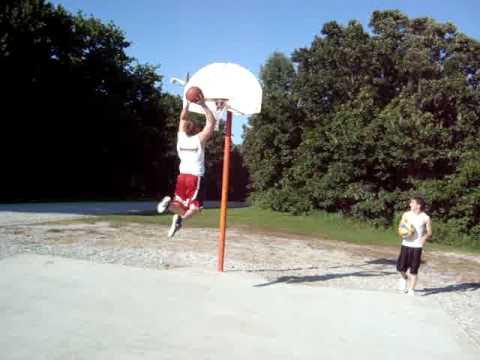 dunking at the park marshall, missouri