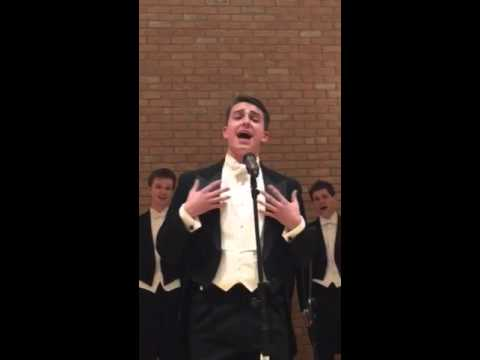All is Fair in Love sung by Christian Probst - Whiffenpoofs - December 31, 2015