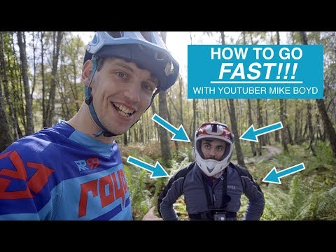 #21 How to go FAST!!! Coaching famous youtuber MIKE BOYD