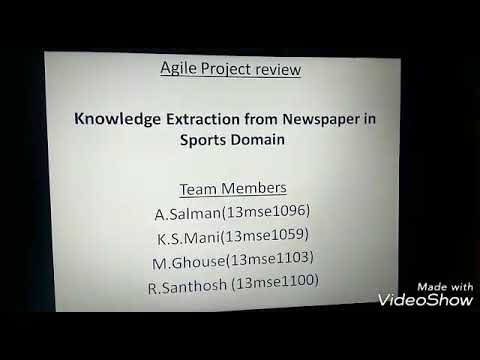 Knowledge extraction in newspaper from sports domain