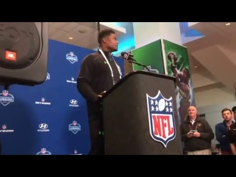 UCLA Bruins Myles Jack Standout Outside Linebacker On Knee Rehab Recovery NFL Combine #NFLCombine