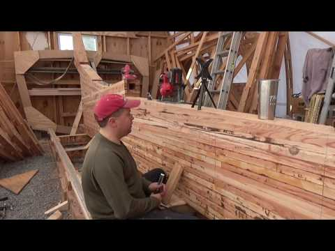 Building a wooden boat and cutting the rabbet.  Sea Dreamer Project #24
