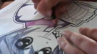 project: how to draw chowder in an anime portrait form