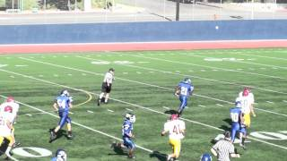 James Williams Burbank High School 2011 Freshman team