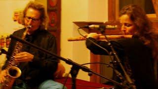 Raga Madhukauns - Jugalbandi Bansuri & Saxophone, Tabla, live p.1/4 (Stephanie Bosch)