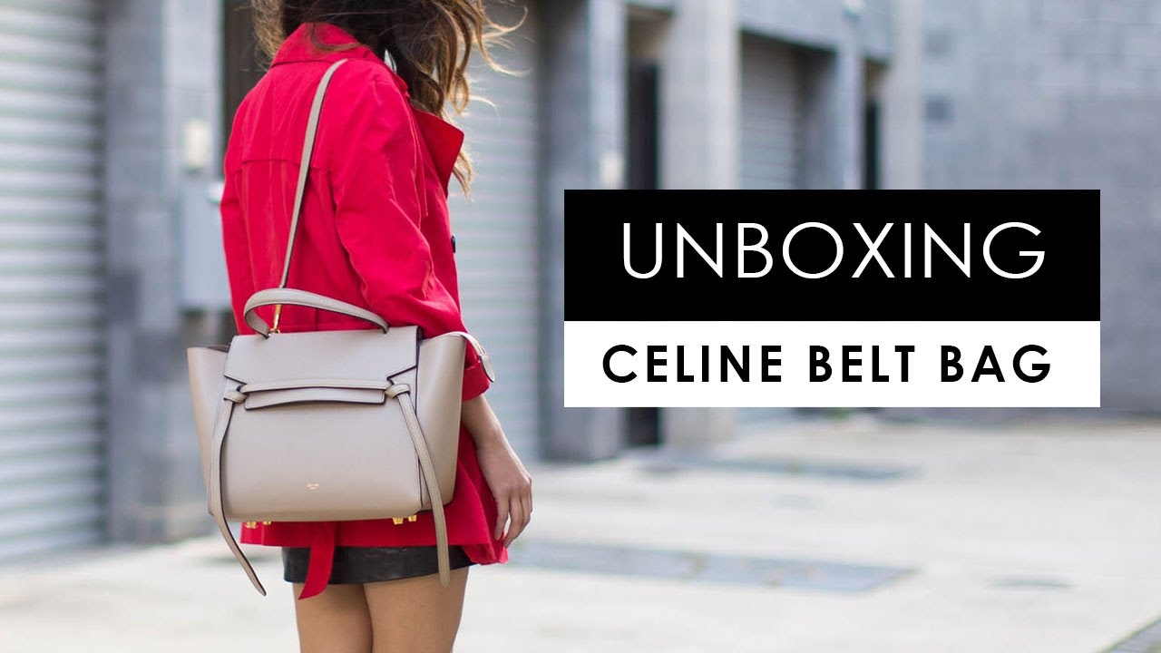 de6ab7b9a1 Celine Belt Bag Small Vs Mini
