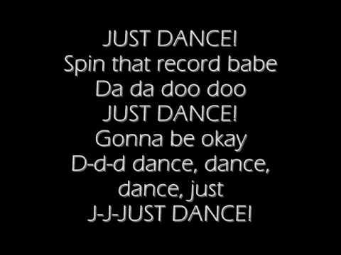 lady gaga ft Colby O' Donis- Just dance(lyrics)