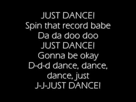 lady gaga ft Colby O' Donis- Just dance(lyrics)