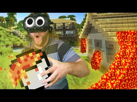 Build Your Base Challenge  Minecraft Mixed Reality Ep 1