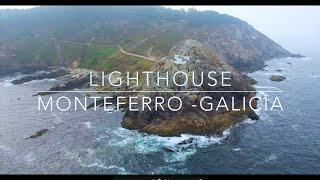 Monteferro Lighthouse Drone (Galicia, Spain) / Faro de Monteferro Dron (España) / DJI Phantom 3