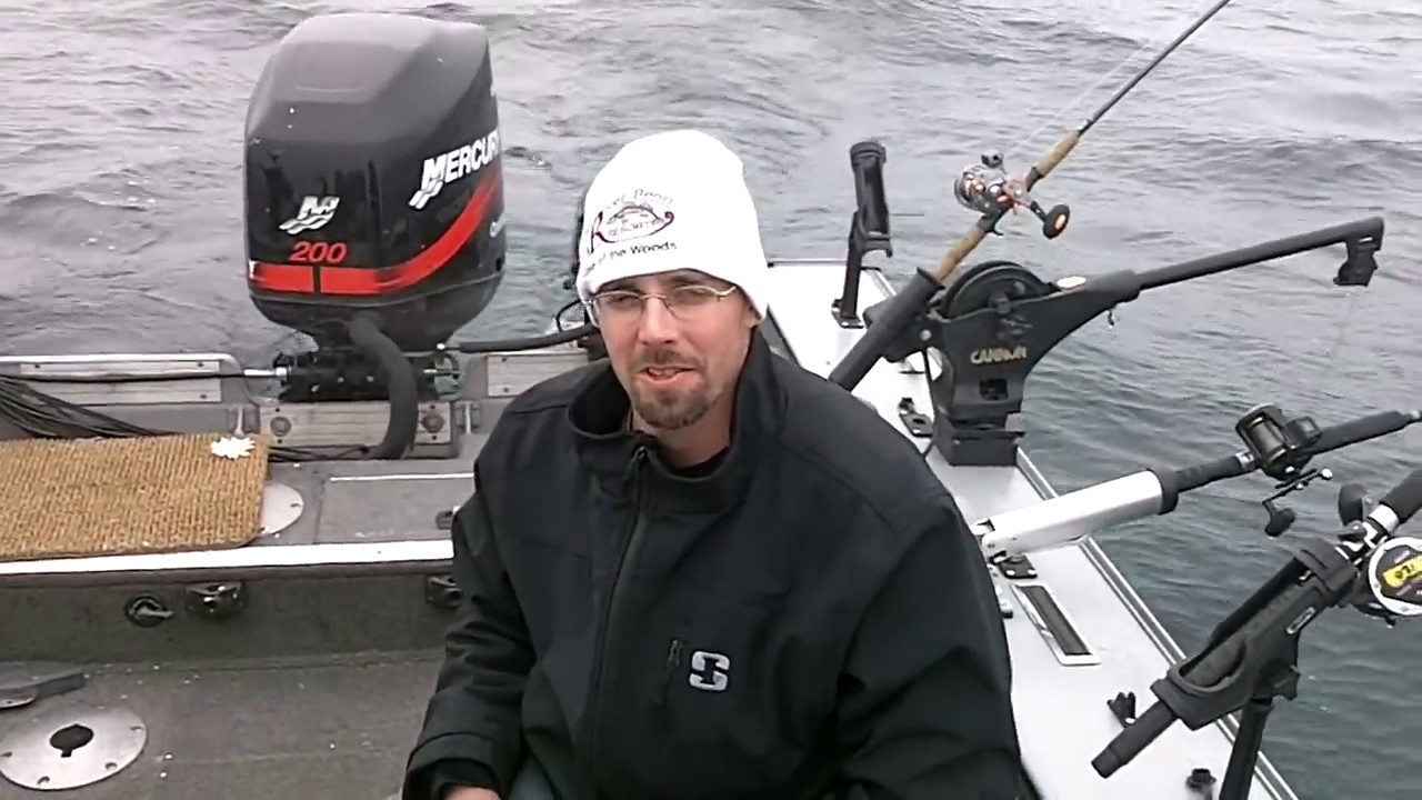 2014 nfn salmon fishing adventure 1 out of two rivers wi for Salmon fishing wisconsin