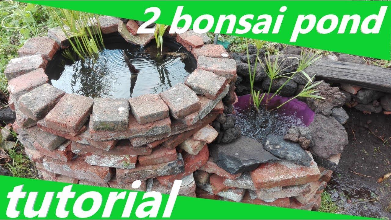 Mini Laghetto Per Terrazzo 2 nuovi bonsai pond!!!