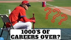 Minor Leaguers Released! 1000's Of Careers Over?