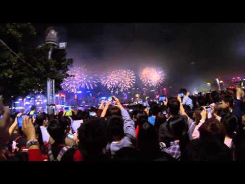 cinese new year victoria harbour firework chebella 農曆新年 春節煙火