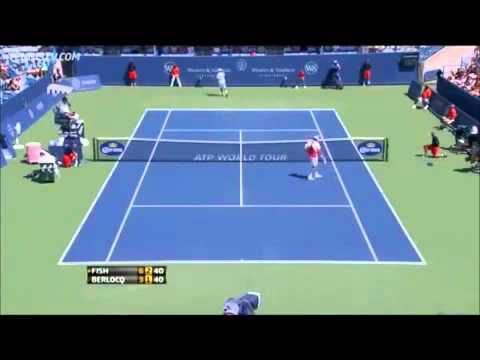 Backwards Tennis - Mardy Fish vs Carlos Berlocq