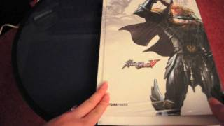 Paging through the Soul Calibur V Official Guide by FuturePress