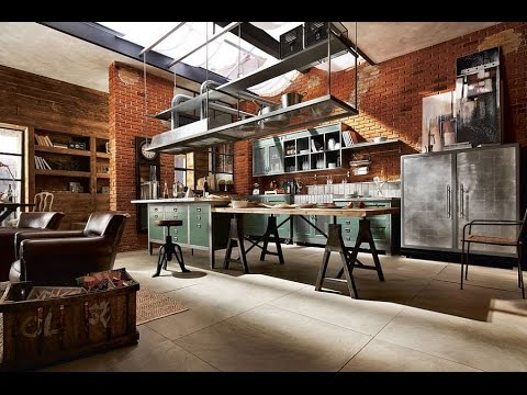 World\'s Most Beautiful Industrial Kitchen Designs - YouTube