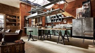 World's Most Beautiful Industrial Kitchen Designs