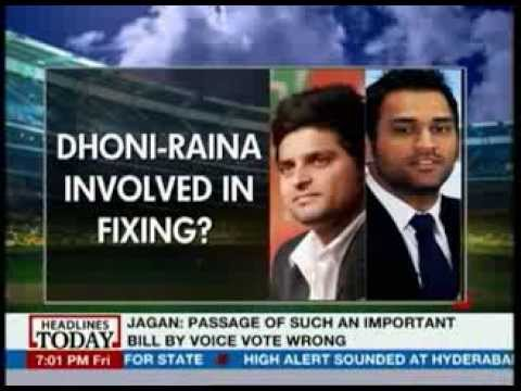 Image result for dhoni fixing