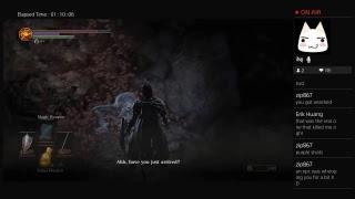 Dark Souls 3 Kazuma the Spell Thief Part 4 (Livestream) thumbnail