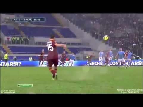 Miralem Pjanic Amazing Free Kick | Lazio vs Roma 3-2.| HD