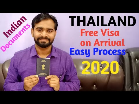 THAILAND Free Visa On Arrival 2020 Process||PhuketllFree Visa||Thailand Visa 2020ll7Countries Tour||