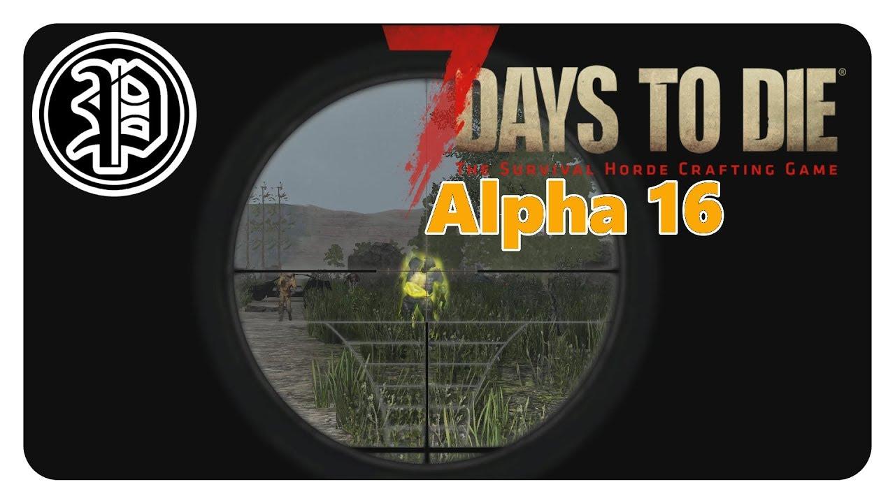 7 Days To Die Alpha 16 4 Deutsch Spp Skill Profi Pedamos Part