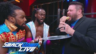 The New Day tests Kevin Owens with a pancake eating challenge SmackDown LIVE April 16 2019