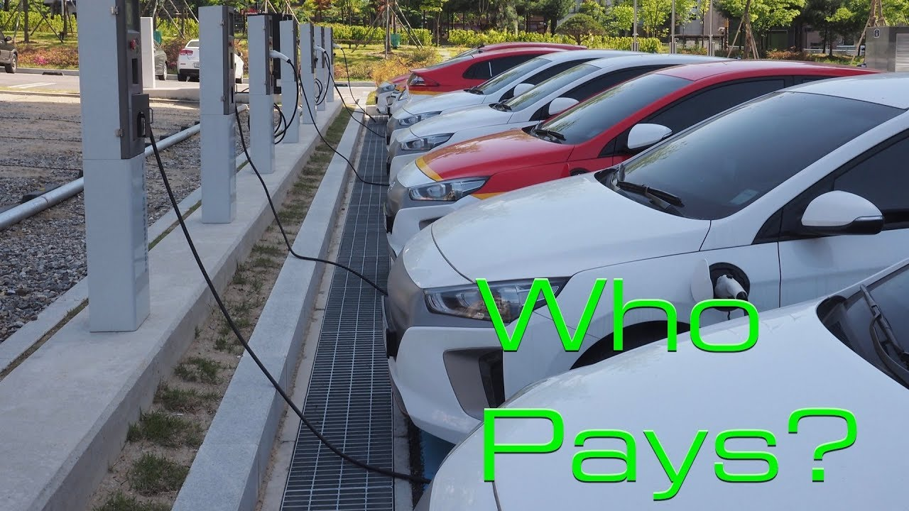 Just Who Should Pay For Charging Stations Electric Cars