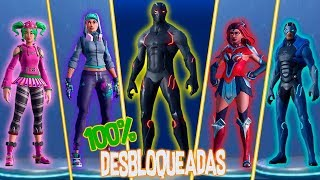 SEASON 4-TIER 100 and ALL SKINS and UNBLOCKED DANCES FORTNITE
