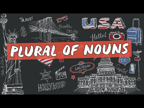 Plural of Nouns - Brasil Escola