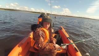 видео На рыбалку на Белое море. Рыбные места