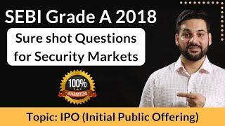 SEBI Grade A : 8 Sure Shot Questions for Security Market Awareness