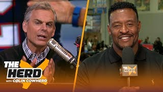 Willie McGinest reflects on his first Super Bowl win & playing with young Tom Brady | NFL | THE HERD