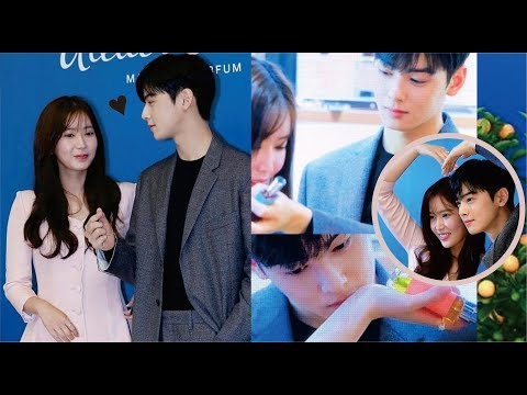 "Cha Eun Woo ❤ Im Soo Hyang ""Atelier Cologne"" My ID Is Gangnam Beauty"