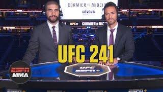 UFC 241 Recap: Stipe Miocic KOs Daniel Cormier, Nate Diaz beats Anthony Pettis | ESPN MMA