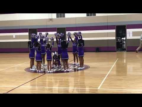 The Soulsville Charter school cheer home coming dance
