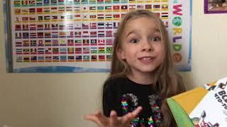Маруся делает обзор на книгу «Все флаги что-то значат» издательства «Миф. Детство»