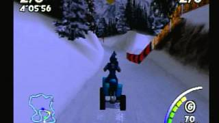 ATV: Quad Power Racing (Playstation) Game Play