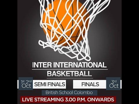 Semi Final One (Boys) Inter - International Basketball Championship
