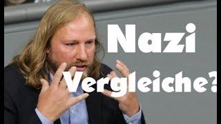 Vergleiche mit dem Nationalsozialismus machen nur wir ?  Grünen : Unterhaltungs Satire