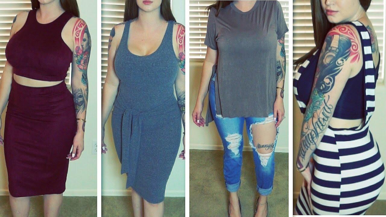 Fashion nova haul dresses