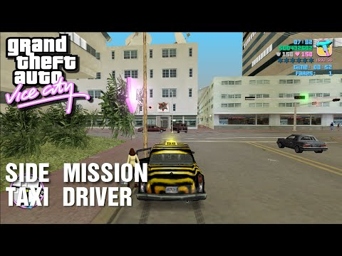 GTA: Vice City - Side-Mission - Taxi Driver