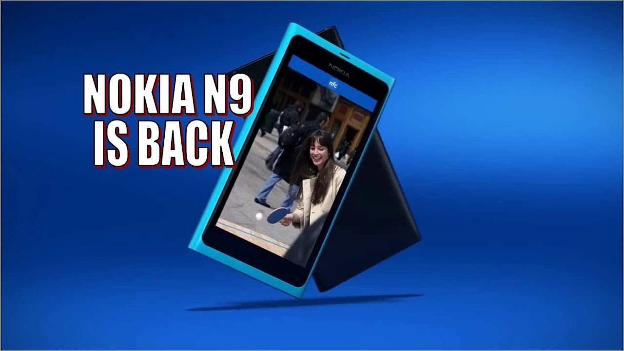 [Watch Now] NOKIA N9 Nseries in 2018 is Back, 41MP Camera with Carl Zeiss  optics, Snapdragon 840