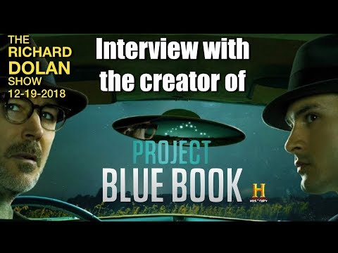 Project Blue Book the Series. A discussion with the show's creator, David O'Leary.