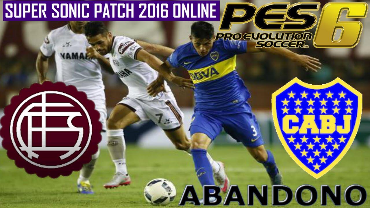 46b251d6 SALTO EL EXE ?? :S | LANUS VS BOCA | PES 6 ONLINE | SUPER SONIC PATCH 2016