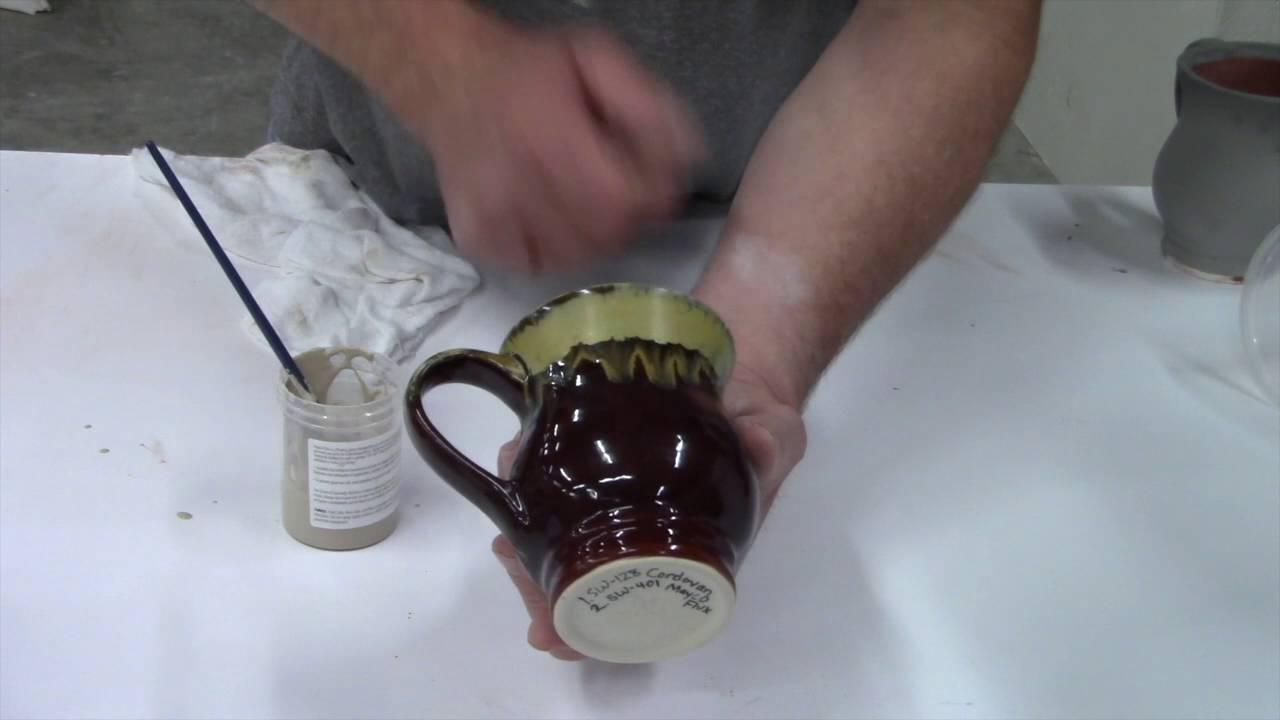 Mayco Flux Over Stoneware Cinnebar Glaze