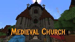 minecraft church tutorials